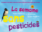 Semaine sans pesticides en 2009: du 20 au 30 mars. -- 22/03/09